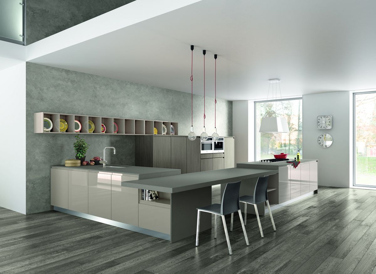 Smart Kitchen Interior